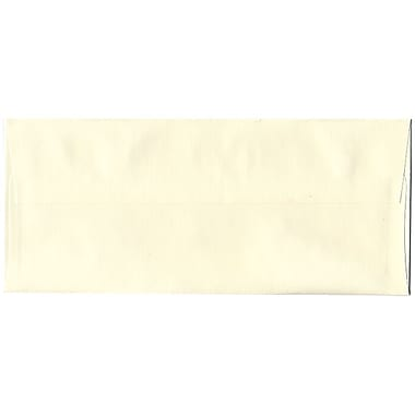 JAM Paper® #10 Business Envelopes, 4 1/8 x 9 1/2, Strathmore Natural White Wove, 1000/carton (34992B)