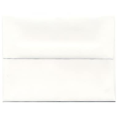 JAM Paper® A2 Invitation Envelopes, 4.38 x 5.75, Strathmore Bright White Wove, 250/Pack (191151H)