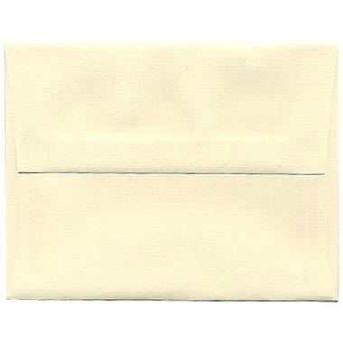 JAM Paper – Enveloppes Strathmore A2, fini toilé ivoire, 250/paquet