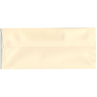 JAM Paper® #10 Business Envelopes, 4 1/8 x 9.5, Strathmore Ivory Wove, 500/Pack (191165H)