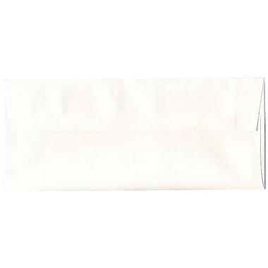 JAM Paper – Enveloppes Strathmore nº 10 (4,13 x 9,5 po) en papier vergé, blanc lumineux, boîte de 500