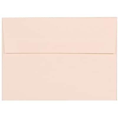 JAM Paper® A7 Invitation Envelopes, 5.25 x 7.25, Strathmore Bright White Linen, 250/box (191189H)