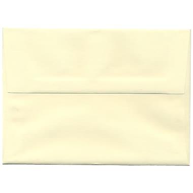 JAM PaperMD – Enveloppes Strathmore A7, papier vergé ivoire, 250/paquet