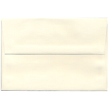 JAM Paper – Enveloppes Strathmore A8, vélin blanc naturel, 250/paquet