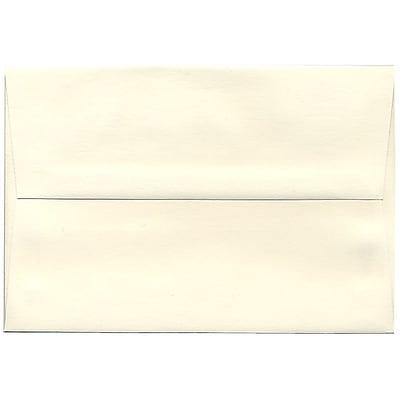 JAM Paper® A8 Invitation Envelopes, 5.5 x 8.125, Strathmore Natural White Wove, 250/box (191205H)