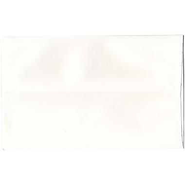 JAM Paper® A10 Invitation Envelopes, 6 x 9.5, Strathmore Bright White Wove, 50/Pack (191220I)