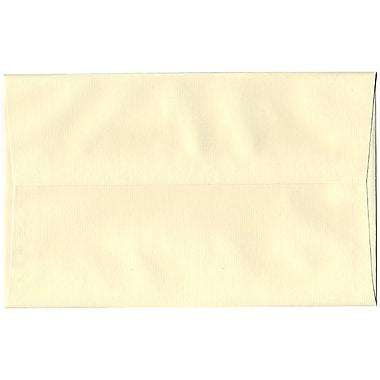 JAM Paper – Enveloppes Strathmore A10, fini vergé ivoire, 250/paquet