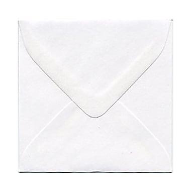 JAM Paper – Mini enveloppes blanches, 3,13 x 3,13 po, 250 par paquet