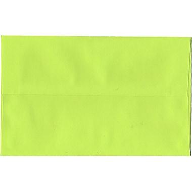 JAM Paper – Enveloppes A10 en papier recyclé, vert lime intense, 250/paquet