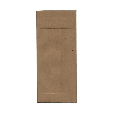 JAM Paper® #14 Policy Envelopes, 5 x 11.5, Brown Kraft Paper Bag Recycled, 500/Pack (36317569H)