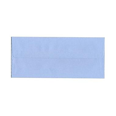 JAM Paper – Enveloppes recyclées n° 10 (4,13 x 9,5 po), bleu clair, 500/bte