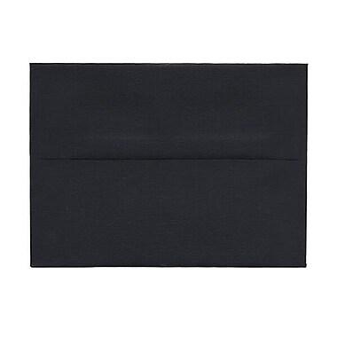 JAM PaperMD – Enveloppes A6, noir lisse, 250/paquet