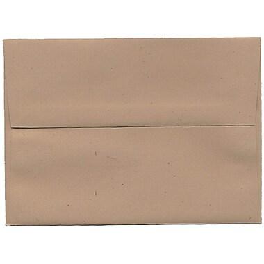 JAM Paper – Enveloppes A7 en papier recyclé, taupe, 250/paquet