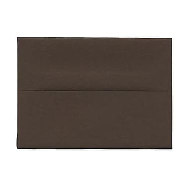 JAM Paper® A2 Invitation Envelopes, 4.38 x 5.75, Chocolate Brown Recycled, 250/Pack (233709H)