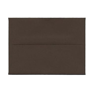 JAM Paper® A6 Invitation Envelopes, 4.75 x 6.5, Chocolate Brown Recycled, 250/Pack (233710H)