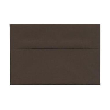JAM Paper – Enveloppes A8 en papier recyclé, brun chocolat, 250/paquet