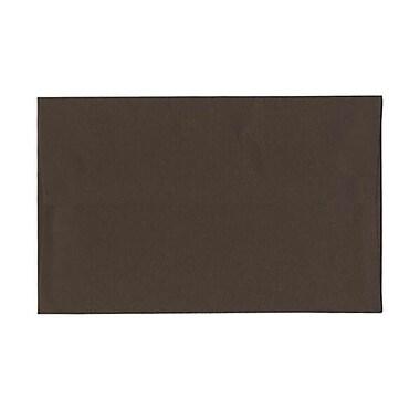 JAM Paper – Enveloppes A10 en papier recyclé, brun chocolat, 250/paquet