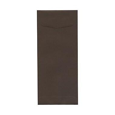 JAM Paper – Enveloppes recyclées nº 11 (4,5 x 10,38 po), brun chocolat, 500/paquet