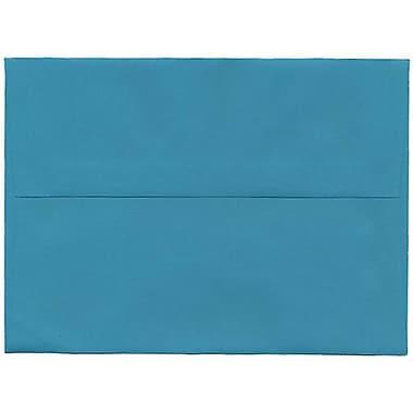 JAM Paper – Enveloppes A7 en papier recyclé bleu de mer, 250/paquet