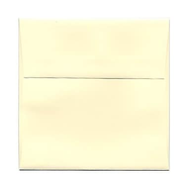 JAM Paper® 5 x 5 Square Envelopes, Ivory, 250/box (2792255H)