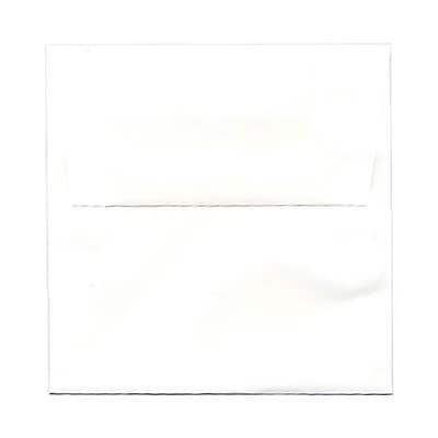 JAM Paper® 5.5 x 5.5 Square Envelopes, White Glossy, 50/pack (2792259I)