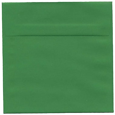JAM Paper® 6.5 x 6.5 Square Envelopes, Brite Hue Green Recycled, 250/Pack (2792279H)
