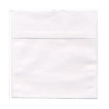 JAM Paper® 7 x 7 Square Envelopes, White, 250/box (28209H)