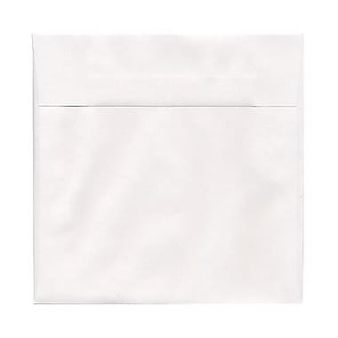 JAM Paper® 7.5 x 7.5 Square Envelopes, White, 50/pack (28210I)