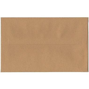 JAM Paper – Enveloppes A10 en papier recyclé, format passeport, couleur gingembre, 250/paquet