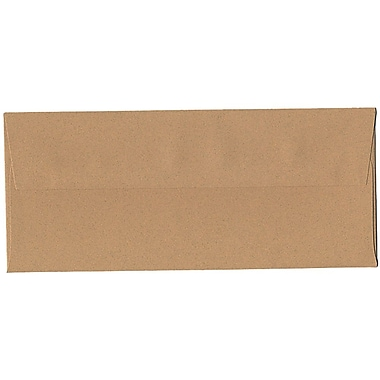 JAM Paper® #10 Business Envelopes, 4 1/8 x 9.5, Ginger Brown Recycled, 500/Pack (2831513H)