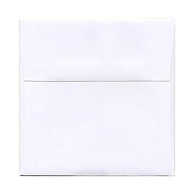JAM Paper® 5 x 5 Square Envelopes, White, 250/Pack (28414H)