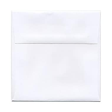 JAM Paper® 5.5 x 5.5 Square Envelopes, White, 50/Pack (28415I)