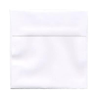JAM Paper® 6 x 6 Square Envelopes, White, 250/box (28416H)