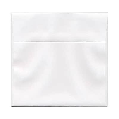 JAM Paper® 6.5 x 6.5 Square Envelopes, White, 250/box (28417H)
