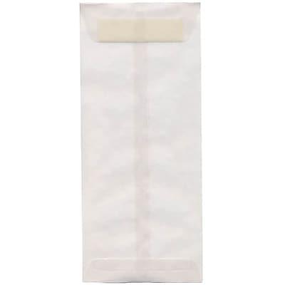 JAM Paper® #14 Policy Envelopes, 5 x 11.5, Clear Translucent Vellum, 50/pack (2851327I)
