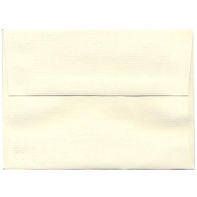 JAM Paper® A6 Invitation Envelopes, 4.75 x 6.5, Strathmore Natural White Laid, 250/box (29376H)