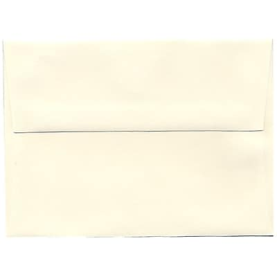 JAM Paper® A6 Invitation Envelopes, 4.75 x 6.5, Strathmore Natural White Wove, 50/pack (30243I)