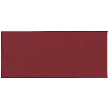 JAM Paper® #10 Business Envelopes, 4 1/8 x 9.5, Dark Red, 500/Pack (31511298H)
