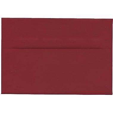 JAM Paper – Enveloppes A8 simples rouge foncé, 250/paquet