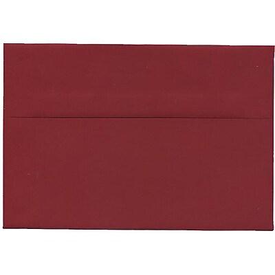 JAM Paper® A8 Invitation Envelopes, 5.5 x 8.125, Dark Red, 50/pack (31511319I)