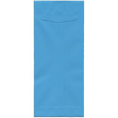 JAM Paper – Enveloppes recyclées Brite Hue nº 11 (4,5 x 10,38 po), bleu, 500/bte