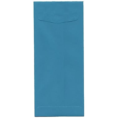 JAM Paper – Enveloppes recyclées Brite Hue no 11, 4,5 x 10,38 po, bleu de mer, 500/paquet