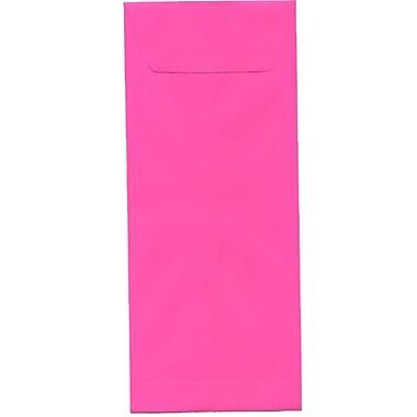 JAM Paper – Enveloppes recyclées Brite Hue nº 12 (4,75 x 11 po), fuchsia intense, 500/bte