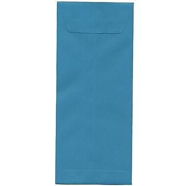 JAM Paper – Enveloppes recyclées Brite Hue nº 12 (4,75 x 11 po), bleu de mer, 500/bte