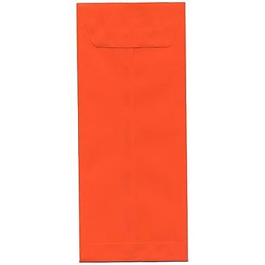 JAM Paper – Enveloppes recyclées Brite Hue nº 12 (4,75 x 11 po), orange, 500/bte