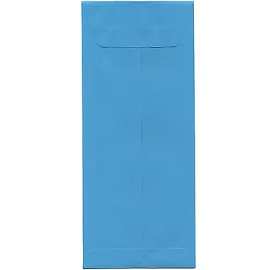 JAM Paper – Enveloppes recyclées Brite Hue nº 12 (4,75 x 11 po), bleu, 500/bte