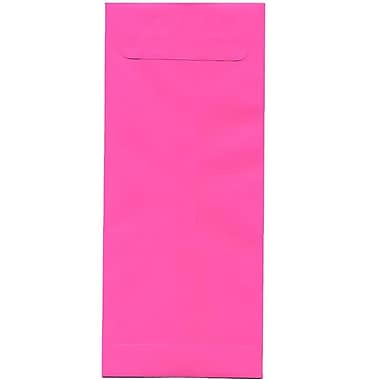 JAM Paper® #14 Policy Envelopes, 5 x 11.5, Brite Hue Ultra Fuchsia Pink, 500/Pack (3156402H)