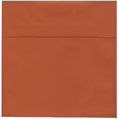JAM Paper – Enveloppes simples carrées, 8,5 x 8,5 po, orange foncé, 250/paquet