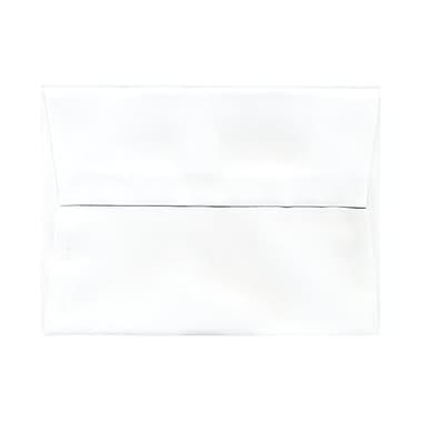 JAM Paper® A6 Invitation Envelopes, 4.75 x 6.5, White, 250/Pack (31820H)