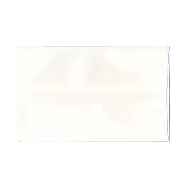JAM Paper® A9 Invitation Envelopes, 5.75 x 8.75, Strathmore Bright White Wove, 250/box (31911140H)
